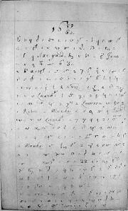 Pepys Diary Page
