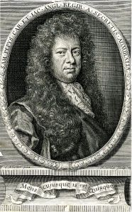 Samuel Pepys Portrait Bookplate