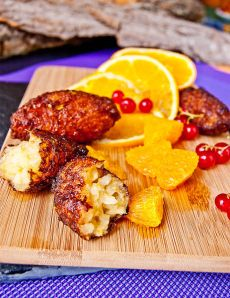Rice Pudding Fritters